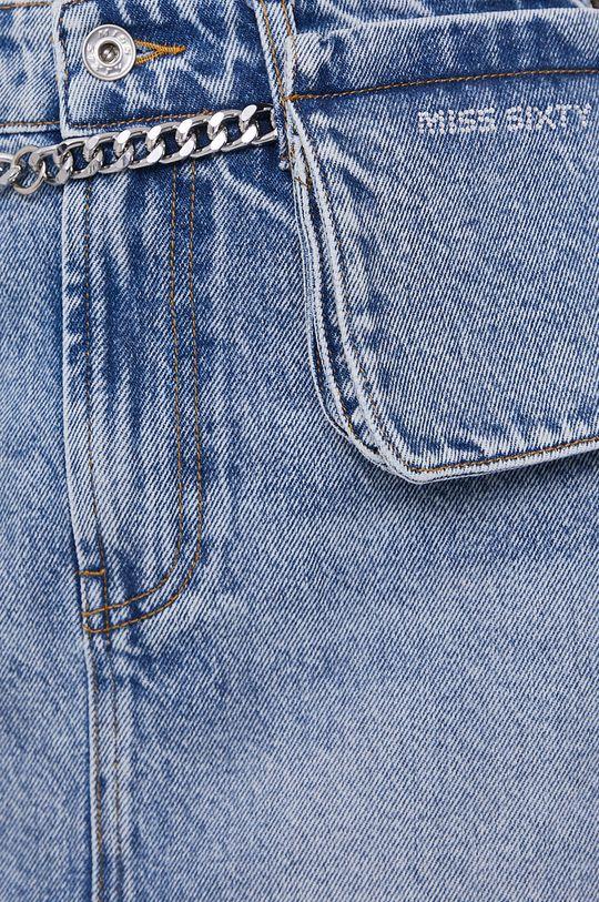 modrá Miss Sixty - Džínová sukně s kapsi%ckou