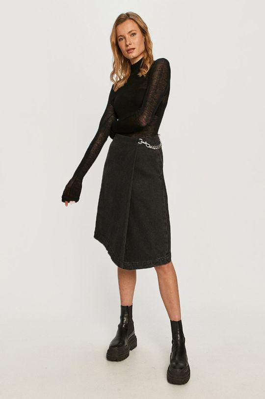 Miss Sixty - Spódnica jeansowa czarny