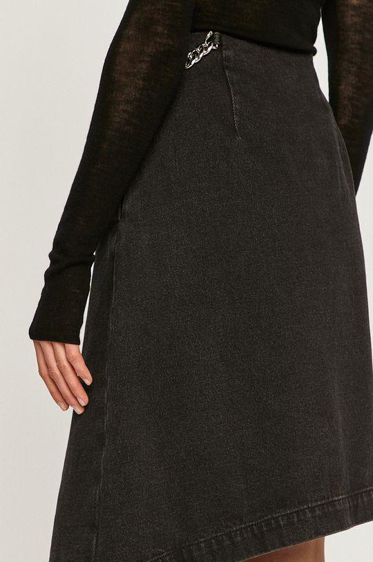 czarny Miss Sixty - Spódnica jeansowa