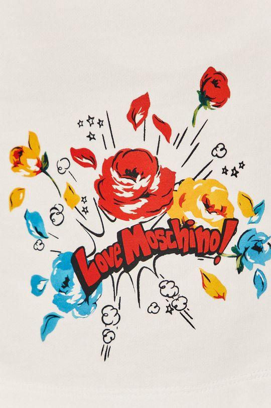 biały Love Moschino - Spódnica