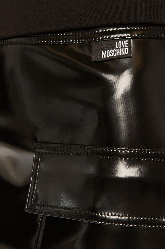 černá Love Moschino - Sukně