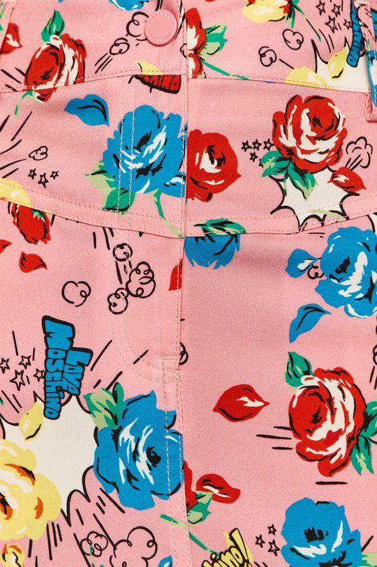 růžová Love Moschino - Sukně