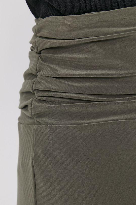 brązowa zieleń Dkny - Spódnica
