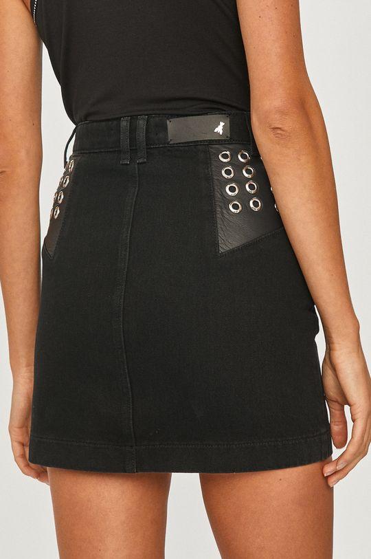 Patrizia Pepe - Spódnica jeansowa Podszewka: 35 % Bawełna, 65 % Poliester, Materiał zasadniczy: 100 % Bawełna