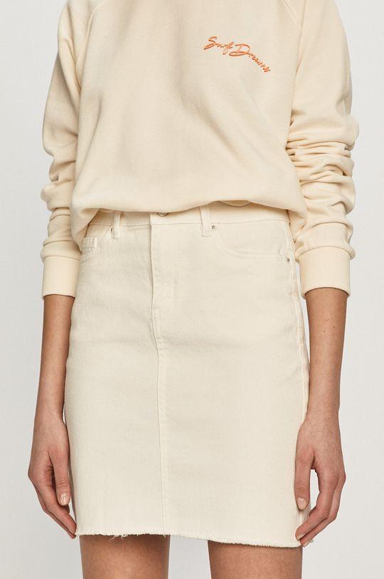 kremowy Vero Moda - Spódnica Damski