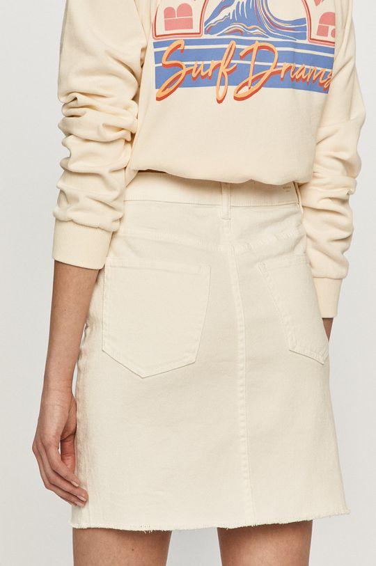 Vero Moda - Spódnica 24 % Bawełna, 1 % Elastan, 25 % Poliester, 50 % Bawełna organiczna