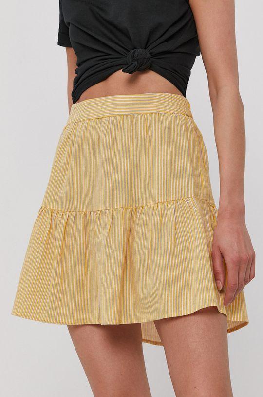 jasny żółty Vero Moda - Spódnica Damski