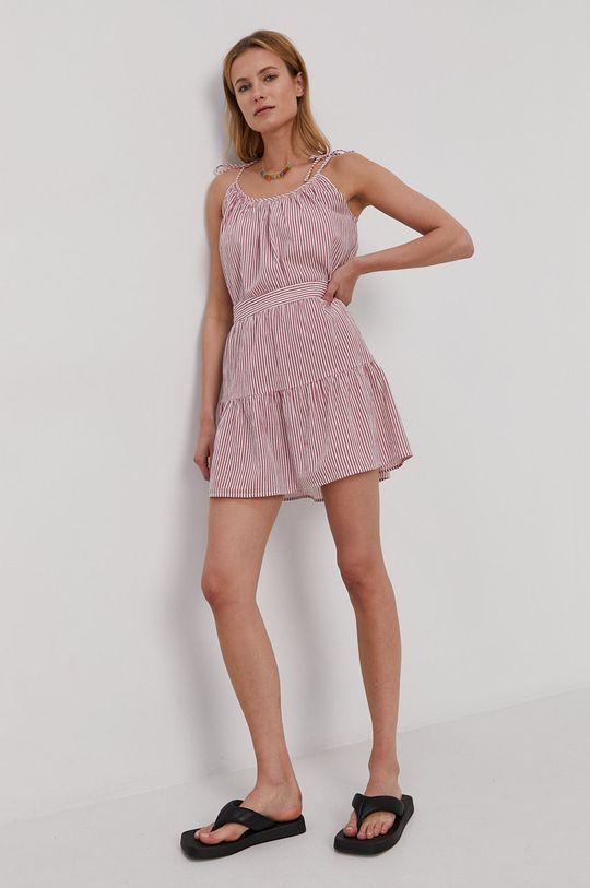 Vero Moda - Szoknya erős rózsaszín