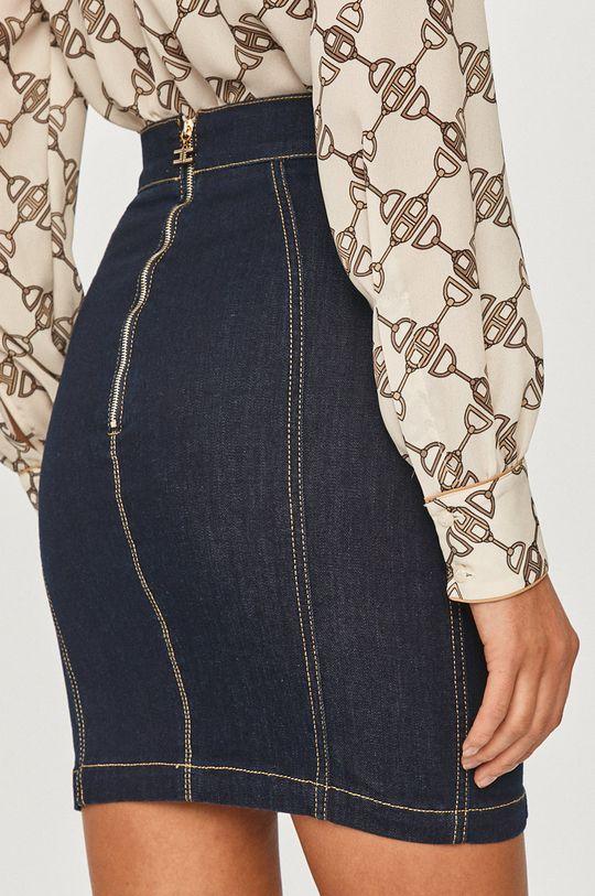 Elisabetta Franchi - Rifľová sukňa  85% Bavlna, 2% Elastan, 13% Polyester