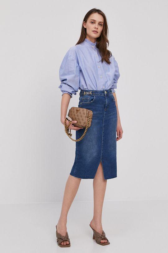 Mos Mosh - Spódnica jeansowa niebieski