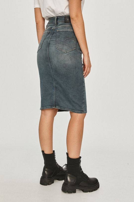 G-Star Raw - Rifľová sukňa  91% Bavlna, 2% Elastan, 7% Elastomultiester