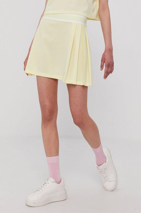adidas Originals - Sukňa žltá