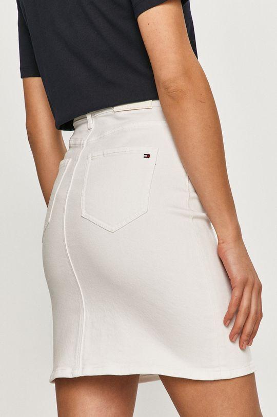 Tommy Hilfiger - Rifľová sukňa  99% Bavlna, 1% Elastan