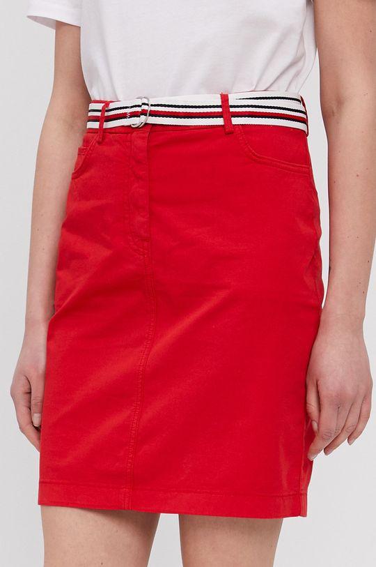 czerwony Tommy Hilfiger - Spódnica Damski