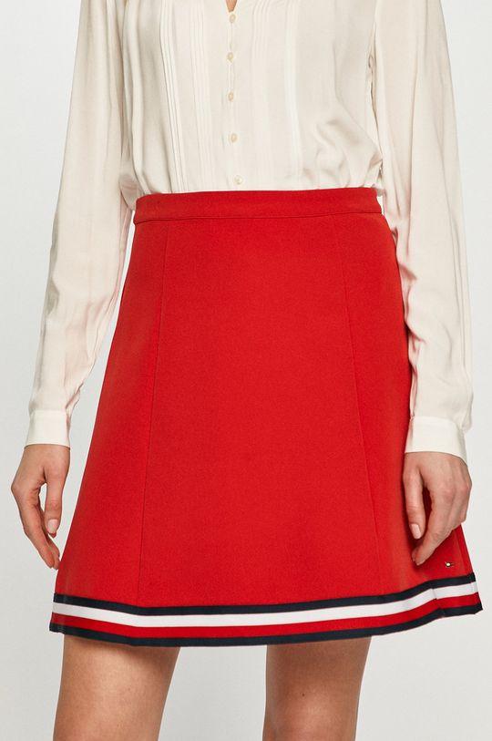 Tommy Hilfiger - Spódnica czerwony
