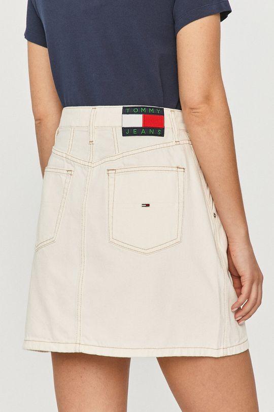 Tommy Jeans - Džínová sukně  100% Bavlna