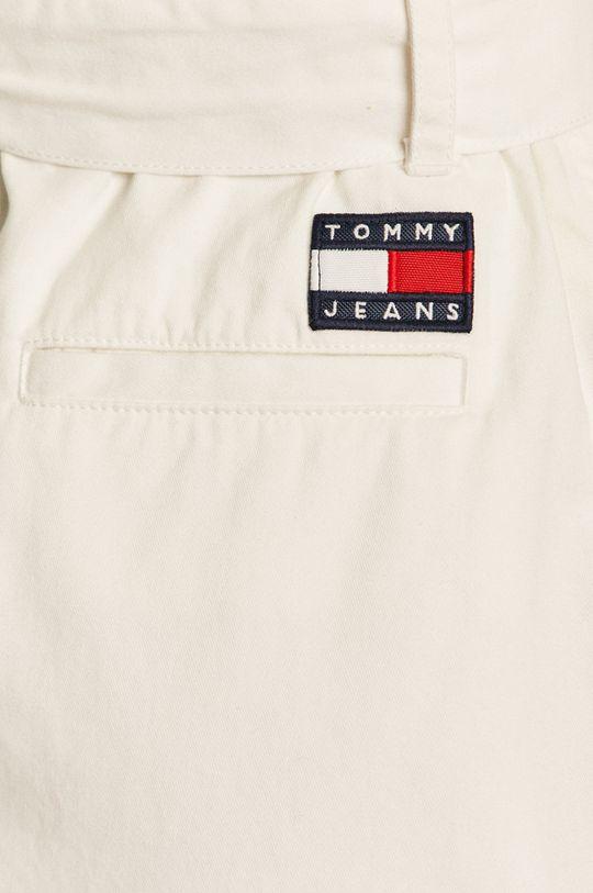 biały Tommy Jeans - Spódnica jeansowa