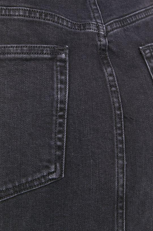 czarny Scotch & Soda - Spódnica jeansowa