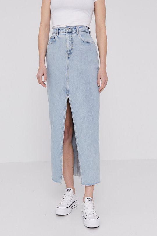 jasny niebieski Scotch & Soda - Spódnica jeansowa Damski