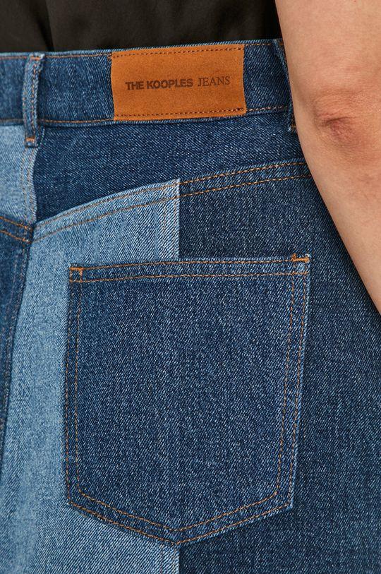 niebieski The Kooples - Spódnica jeansowa