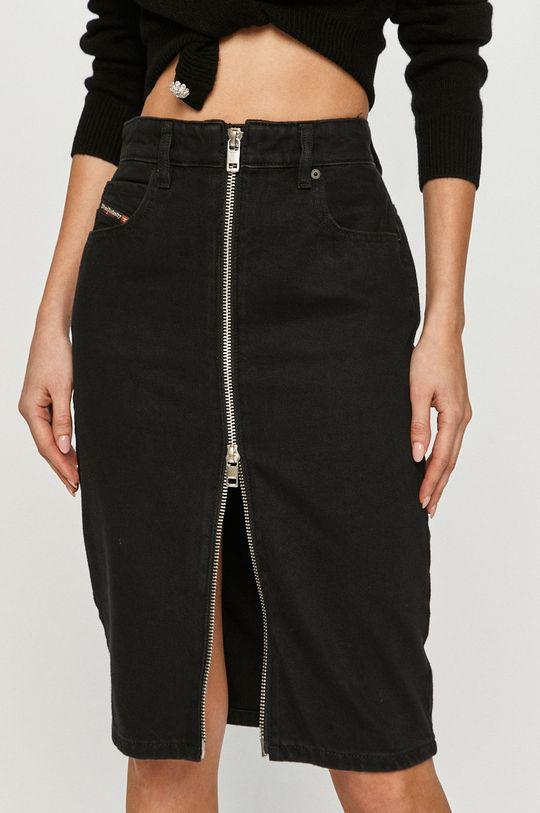 Diesel - Džínová sukně černá