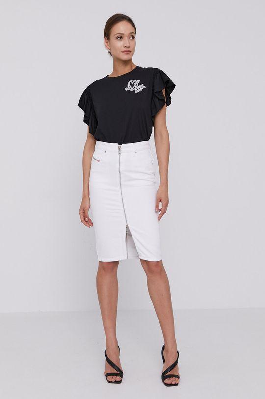 Diesel - Rifľová sukňa biela