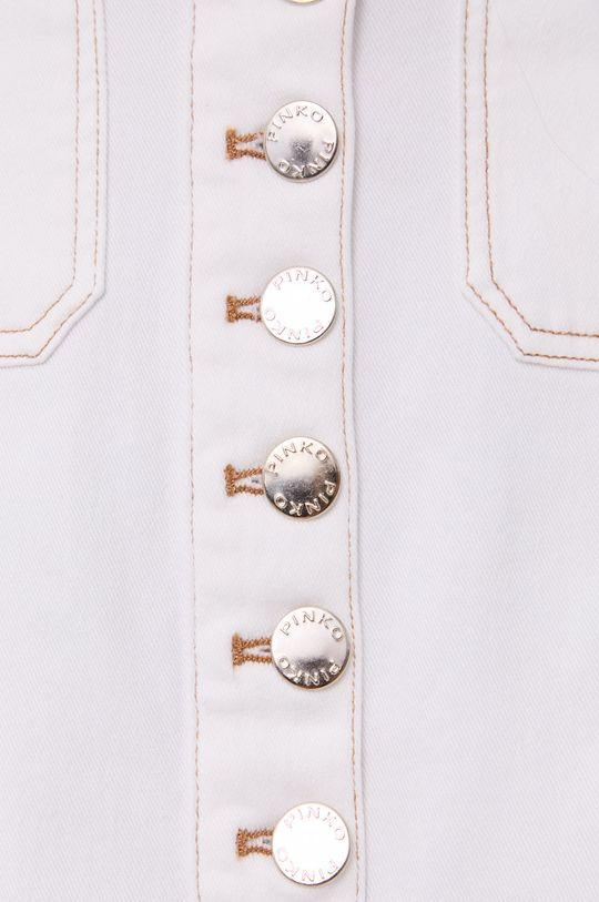 biały Pinko - Spódnica jeansowa
