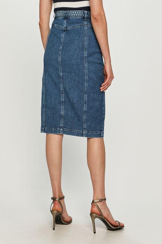 Pinko - Rifľová sukňa  94% Bavlna, 1% Elastan, 5% Polyester