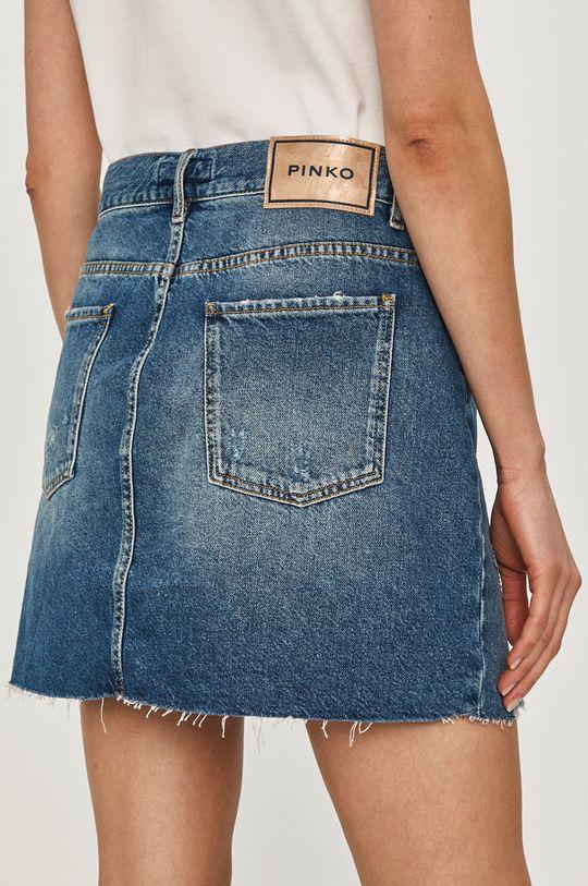 Pinko - Fusta jeans  100% Bumbac