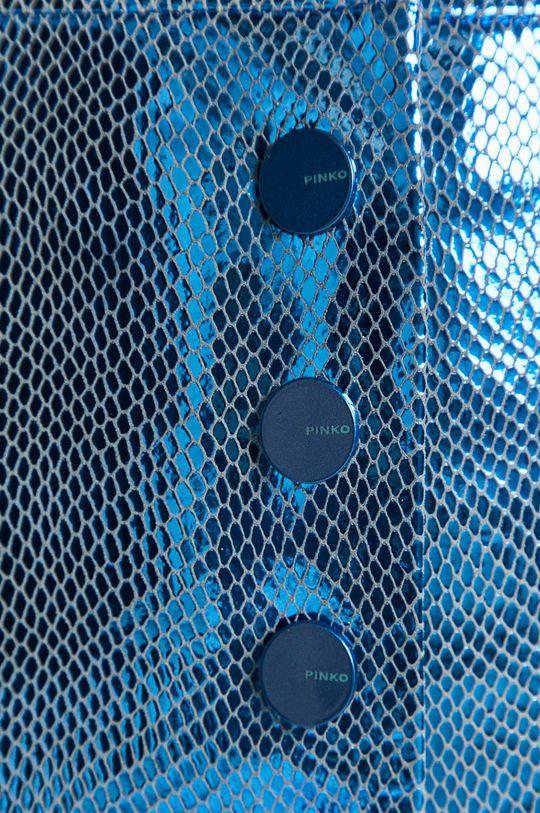 modrá Pinko - Kožená sukňa