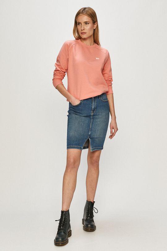 Lee - Spódnica jeansowa niebieski