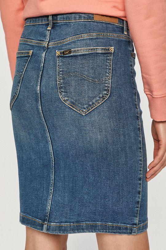 Lee - Spódnica jeansowa 2 % Elastan, 84 % Bawełna organiczna, 14 % Poliester z recyklingu