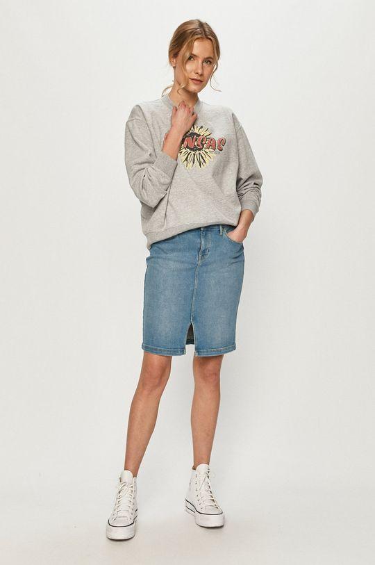 Lee - Spódnica jeansowa jasny niebieski