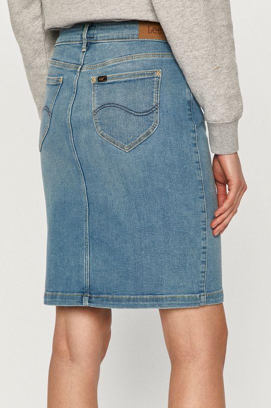 Lee - Spódnica jeansowa 2 % Elastan, 14 % Poliester z recyklingu, 84 % Bawełna z recyklingu
