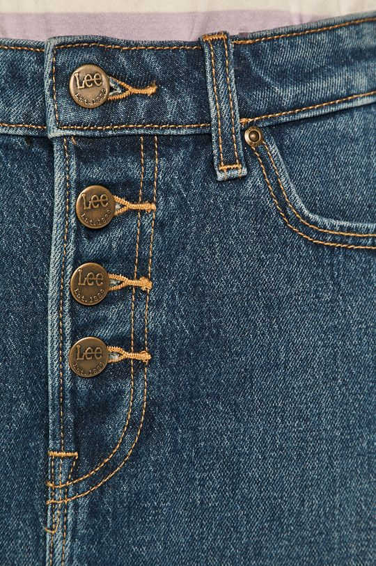 granatowy Lee - Spódnica jeansowa