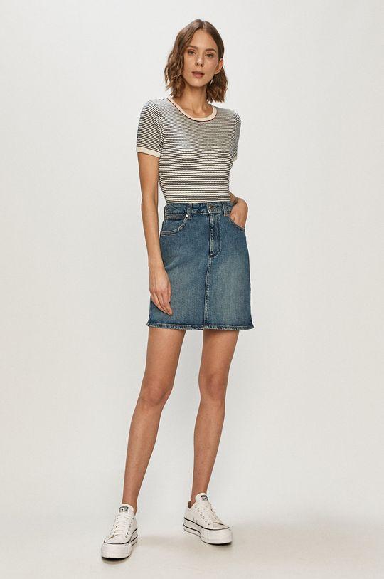 Wrangler - Spódnica jeansowa niebieski