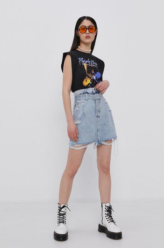 Tally Weijl - Džínová sukně světle modrá