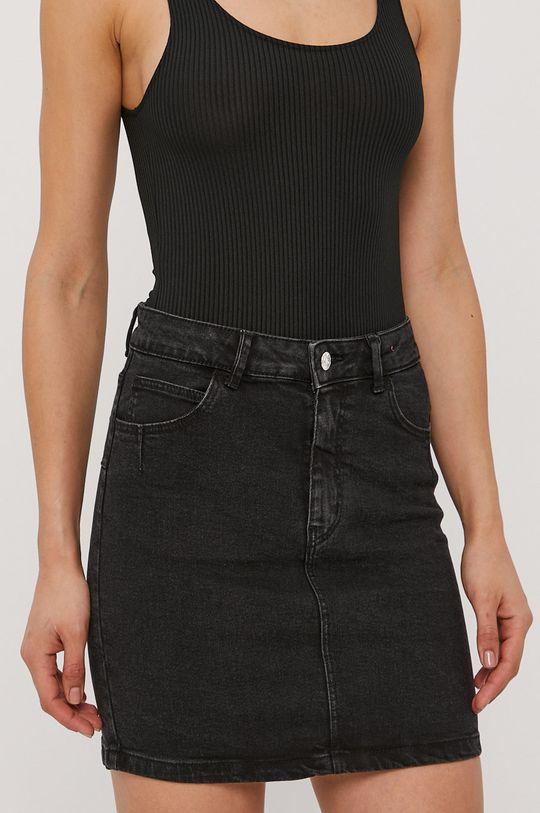 czarny Tally Weijl - Spódnica jeansowa Damski