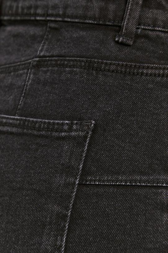 czarny Tally Weijl - Spódnica jeansowa
