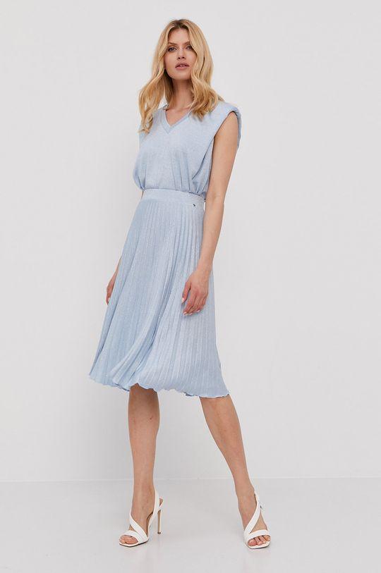 NISSA - Spódnica jasny niebieski