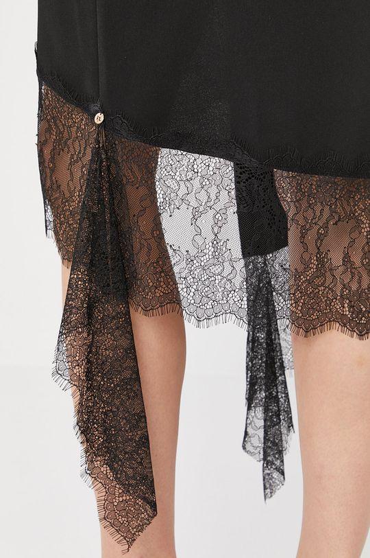 czarny NISSA - Spódnica