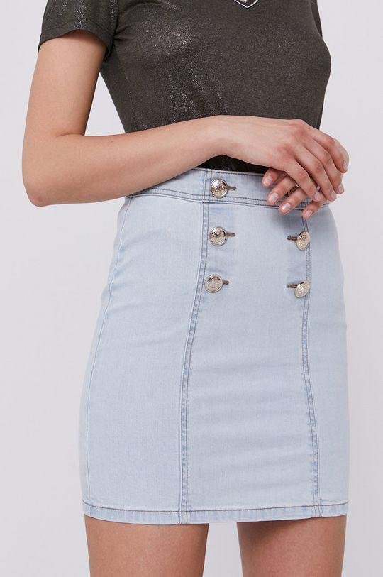 modrá Morgan - Rifľová sukňa Dámsky