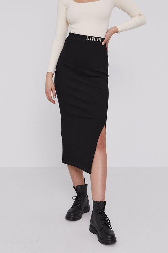 AllSaints - Sukňa čierna