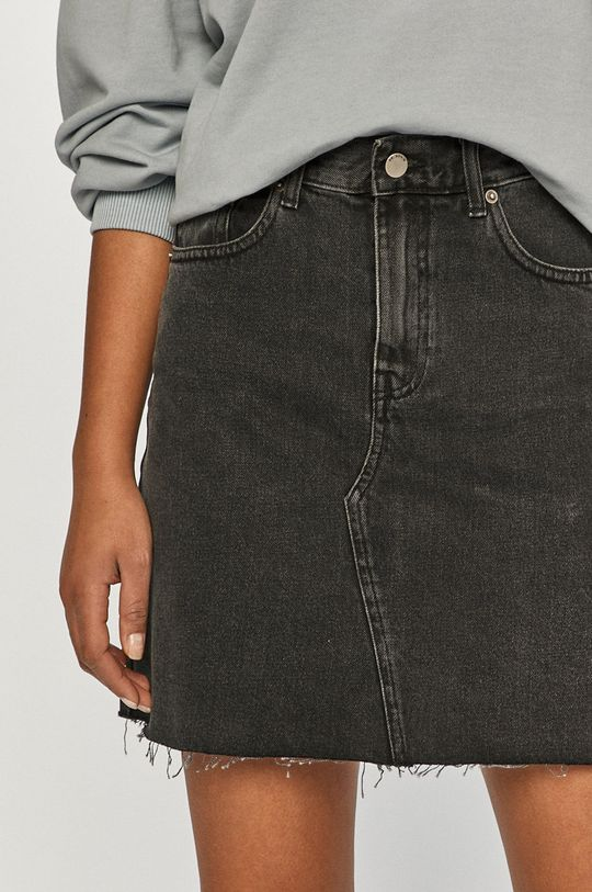 czarny Dr. Denim - Spódnica jeansowa Damski