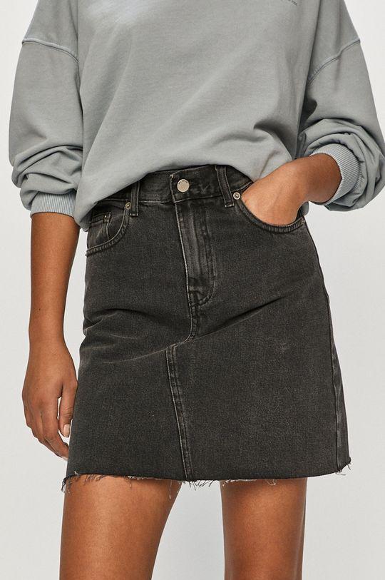 czarny Dr. Denim - Spódnica jeansowa