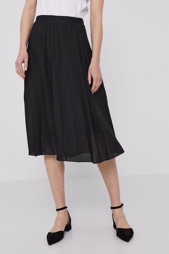 czarny Lacoste - Spódnica Damski