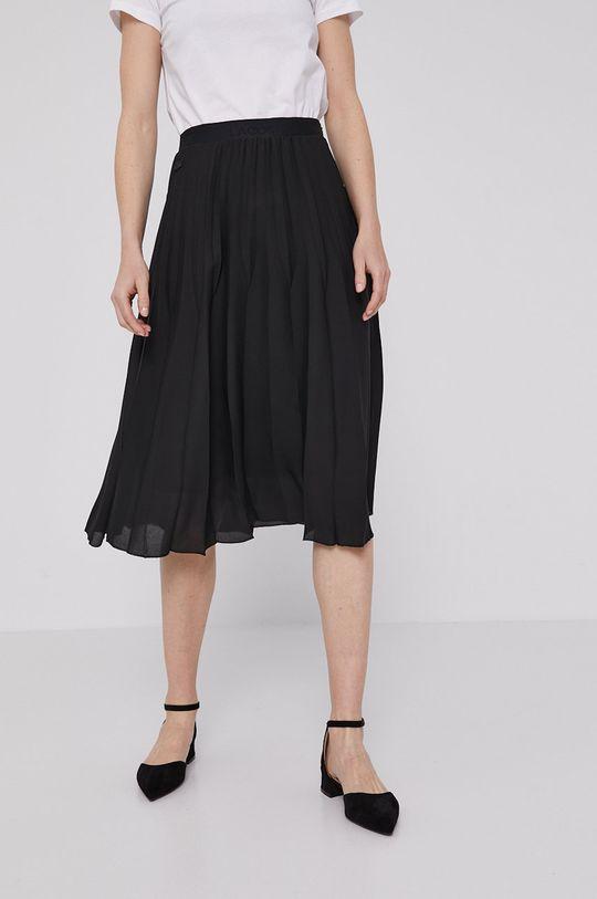 czarny Lacoste - Spódnica