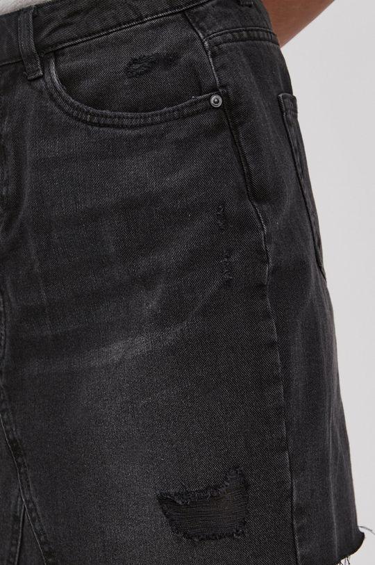 černá Noisy May - Džínová sukně