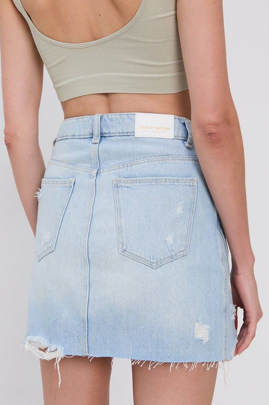 Tally Weijl - Spódnica jeansowa bawełniana 100 % Bawełna