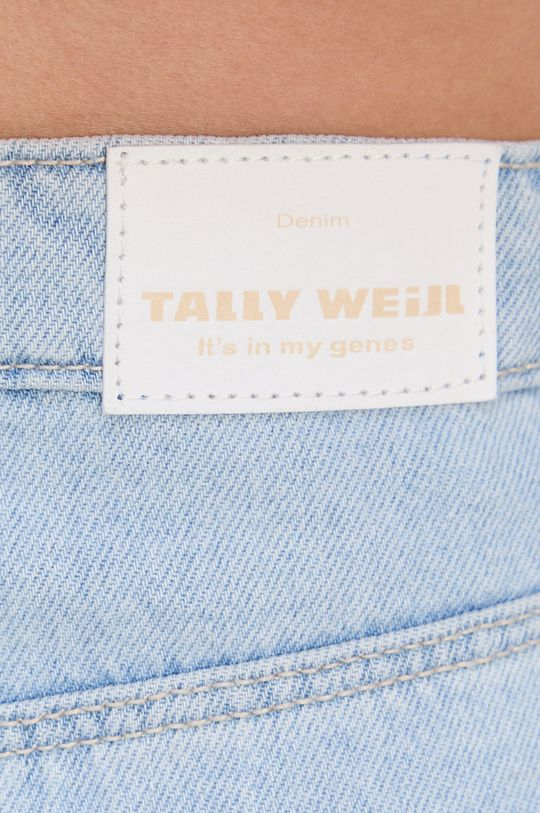jasny niebieski Tally Weijl - Spódnica jeansowa bawełniana